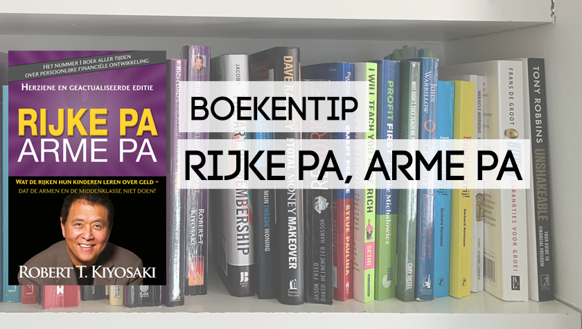 Boekreview Rijke pa, Arme Pa - Robert Kiyosaki