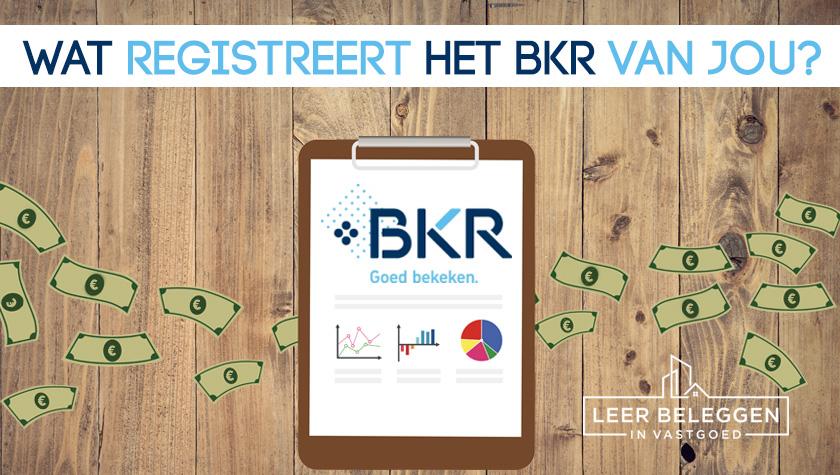 Wat registreert het BKR van jou?