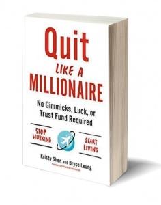 Boekcover Quit Like a Millionaire