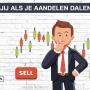 Wat doe jij als je aandelen dalen?