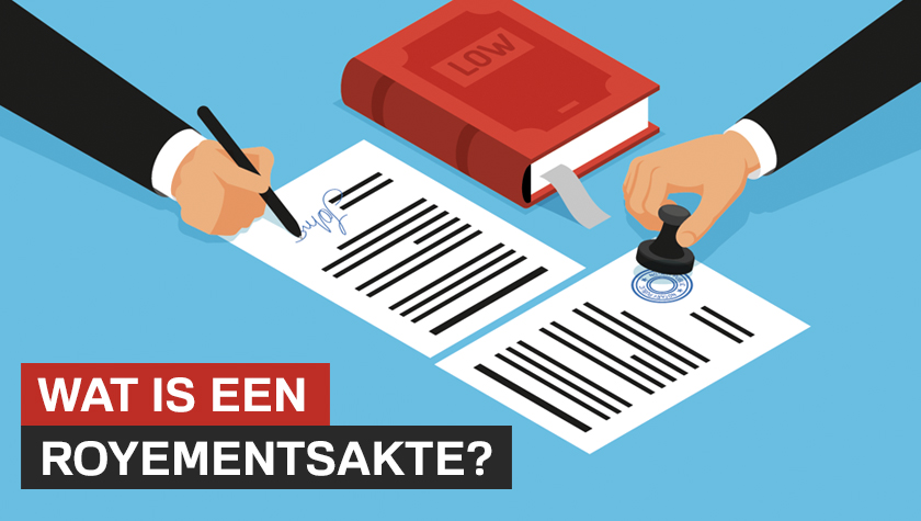 Wat is een Royements akte?
