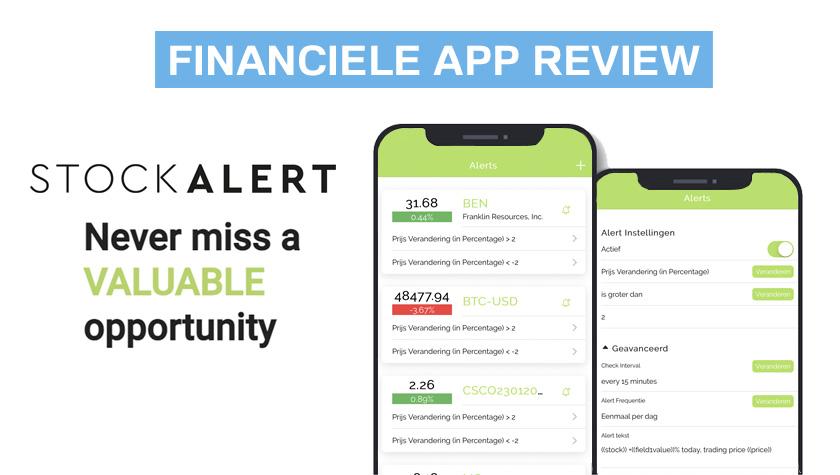 Financiele app - Stock Alert
